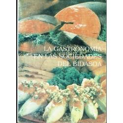 Las gastronomía en las sociedades del Bidasoa.