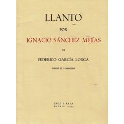 Llanto por Ignacio Sánchez Mejías.