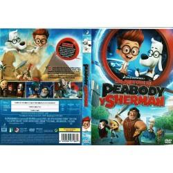 Las aventuras de Peabody y Sherman.
