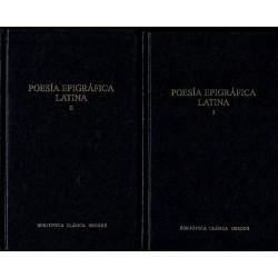 Poesía epigráfica latina. 2 vols.